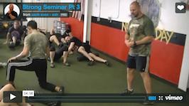 STRONG The Seminar - Pt III